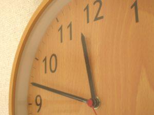 数字と時計